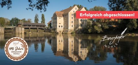 Berghofer-Mühle Vulkanland erfolgreich finanziert